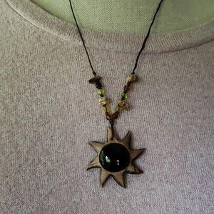 Sunburst Artisan Necklace